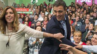 La rivalidad entre Pedro Sánchez y Susana Díaz amenaza la unidad del PSOE