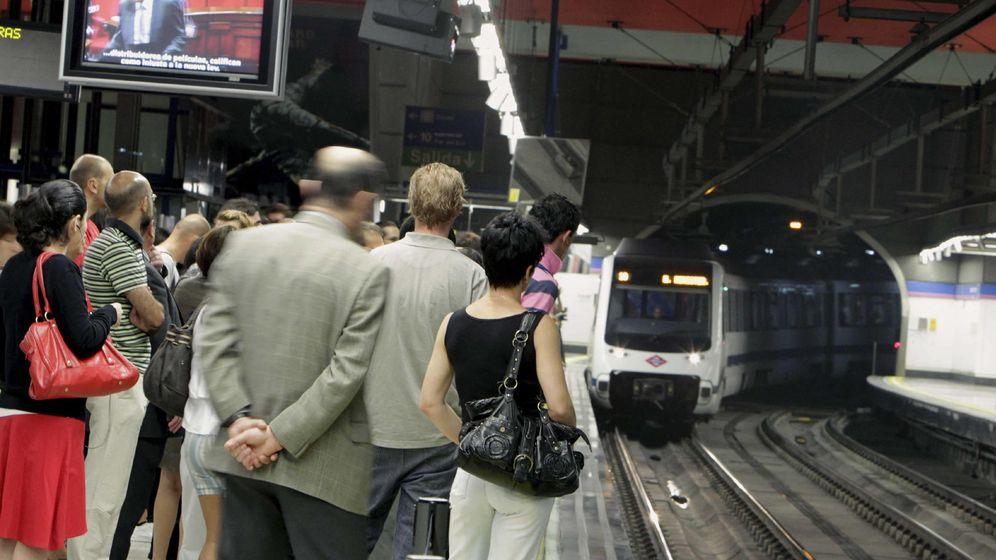 Foto: Una estación del Metro de Madrid