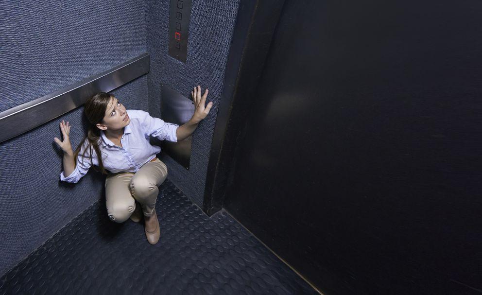 Foto: Que se descuelgue un ascensor es improbable, pero sigue habiendo casos. (iStock)