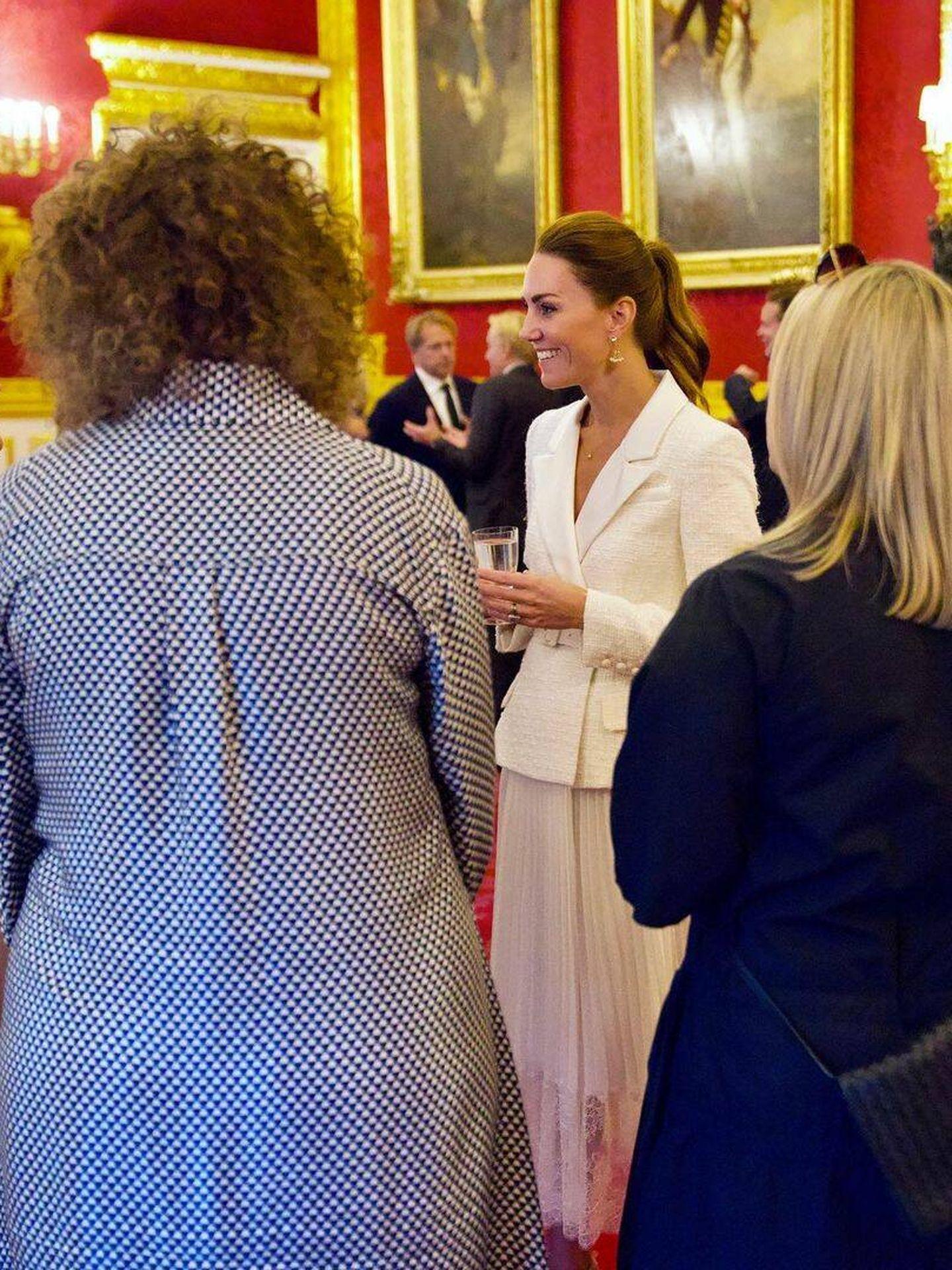 Kate Middleton, durante la velada. (Palacio de Kensington)