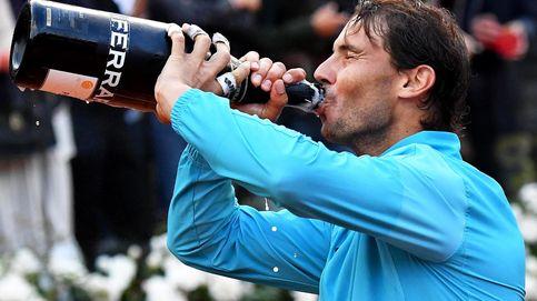 El 'Ferrari' de Rafa Nadal en Roma y el desquiciado Novak Djokovic