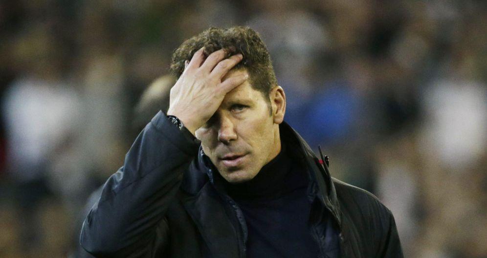 Foto: El Cholo Simeone tiene decidido poner punto y final a su etapa en el Atlético de Madrid dos años antes de lo previsto (Reuters)