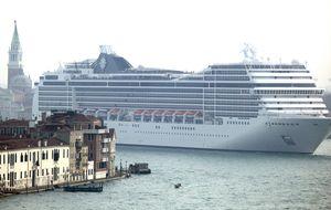Movilización internacional contra los cruceros en Venecia