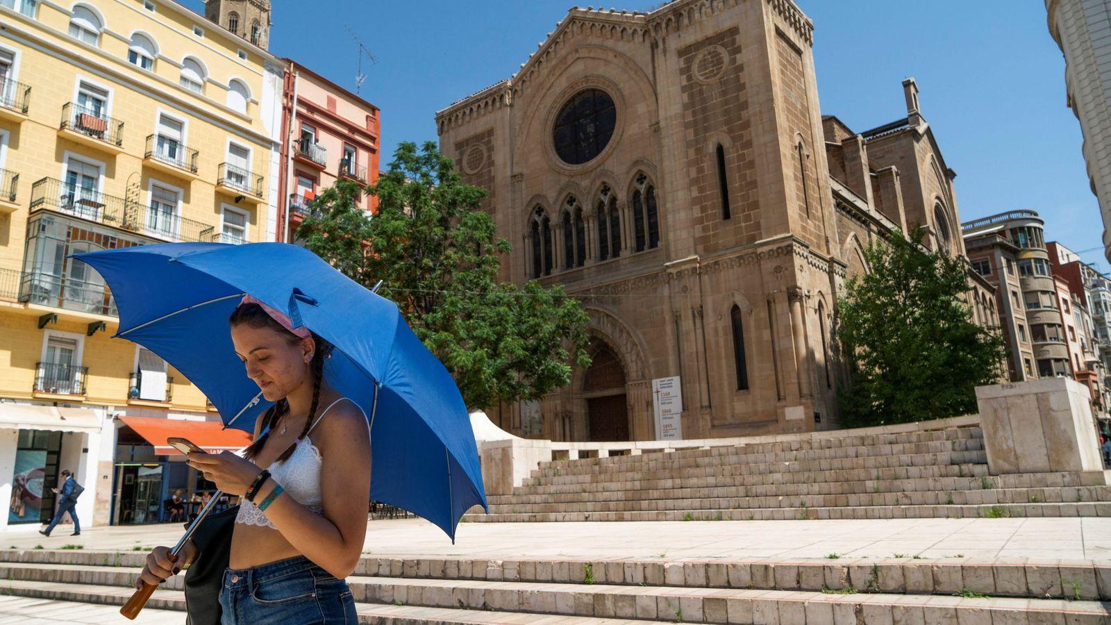 Foto: Ola de calor en lleida
