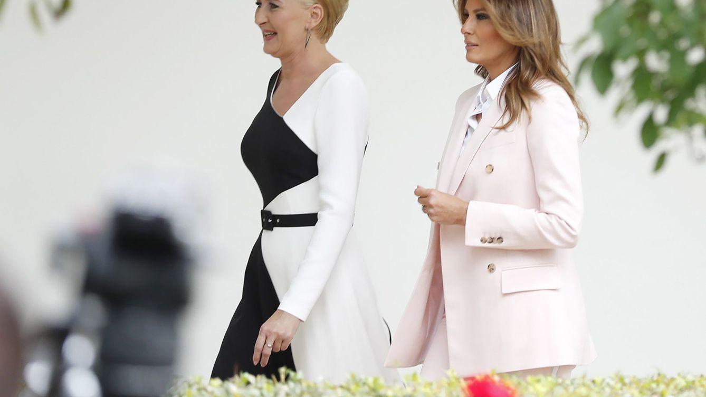 Melania Trump revoluciona su vestuario con este look de 3.000 euros