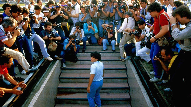 Otra imagen de 'Diego Maradona'.