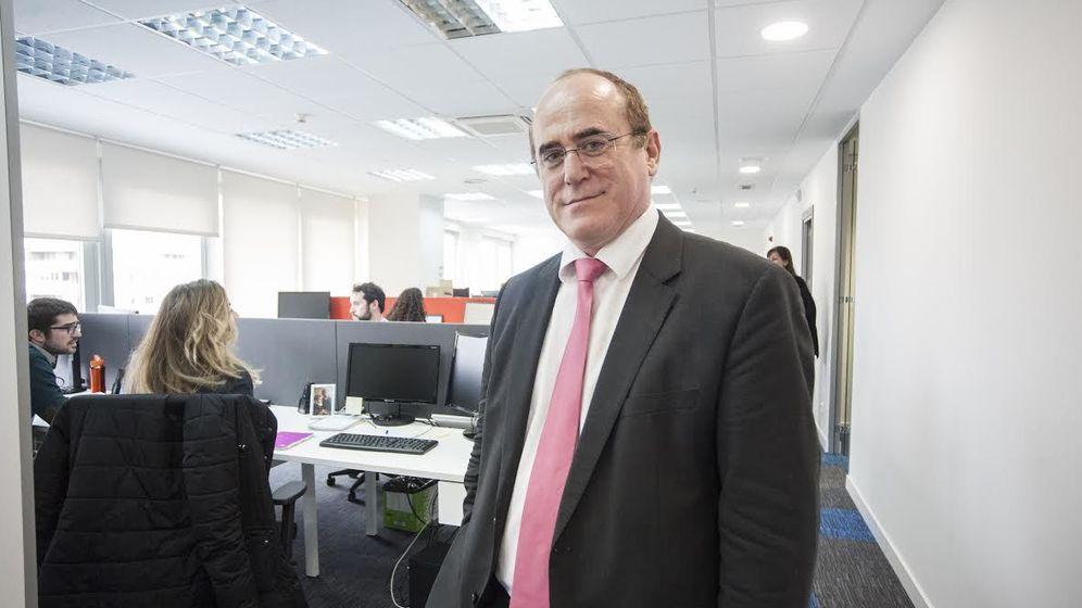 Foto: Jesús María Arriaga, director del despacho, en sus oficinas de Madrid.