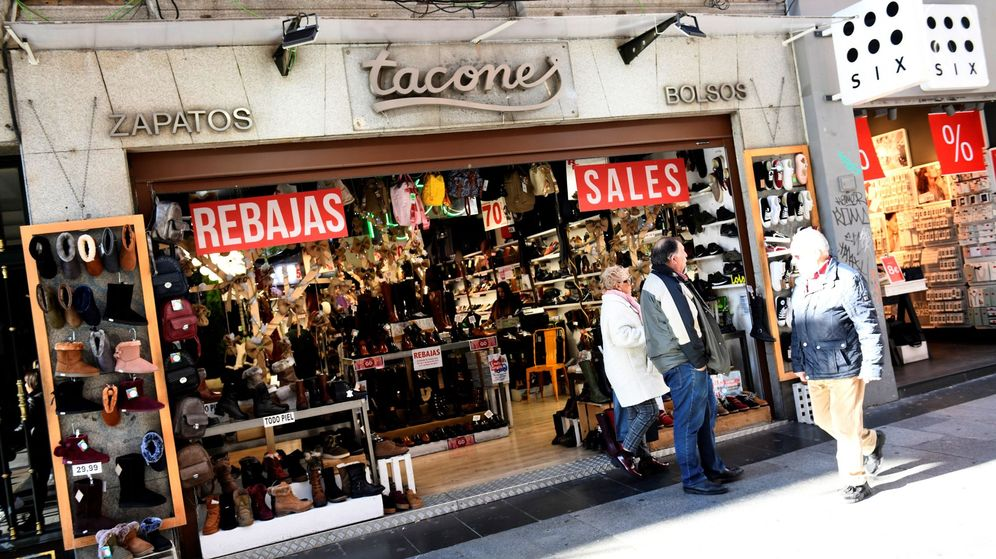 Foto: Una tienda en el centro de Madrid. (EFE)