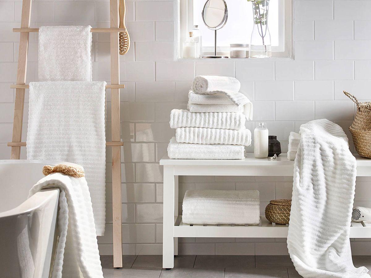 Foto: Toallas baratas y sostenibles de Ikea mejor valoradas por sus clientes. (Cortesía)