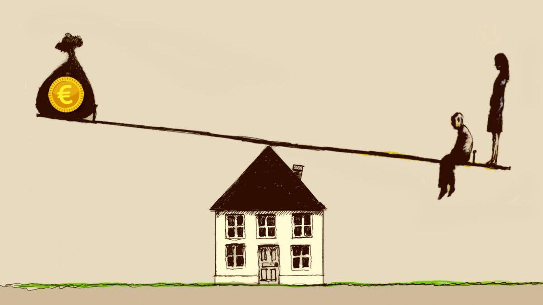 El euríbor vuelve a subir en mayo y la hipoteca, también: 50-100 euros más al mes