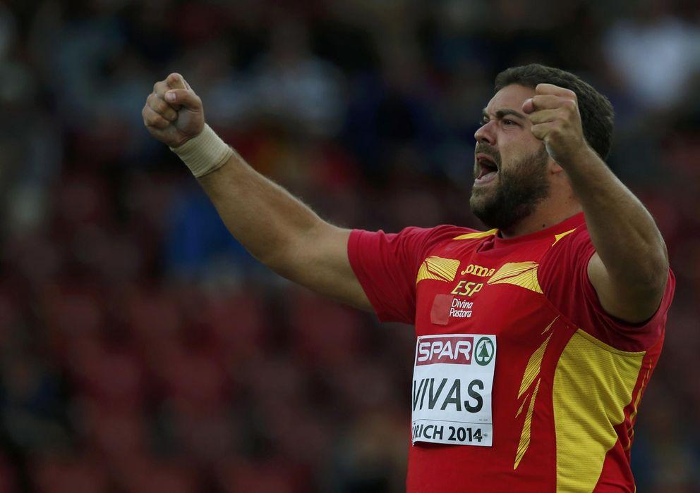 Foto: Borja Vivas celebra su título de subcampeón (Reuters).