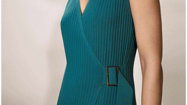 Nuevo vestido de Massimo Dutti. (Cortesía)