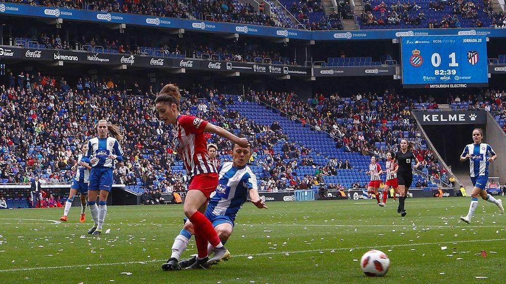 Foto: El Atlético de Madrid puede ganar este domingo su tercer título de Liga seguido. (EFE)