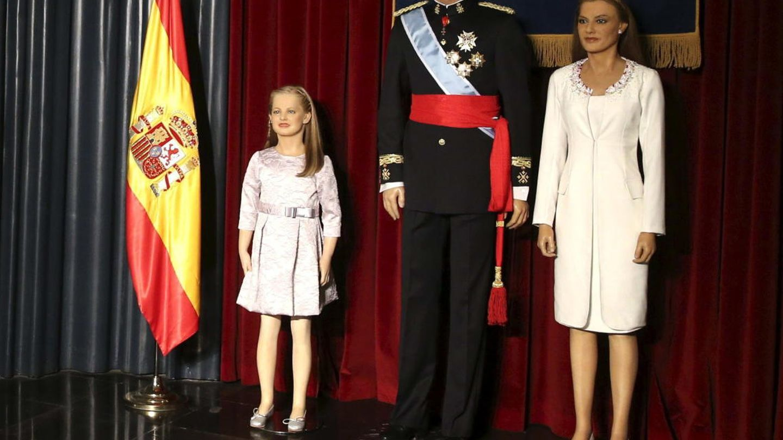 La muñeca de cera de Leonor. (EFE)
