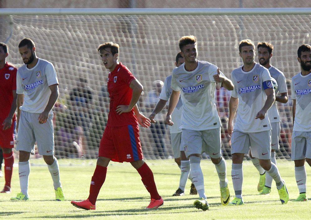 Foto: El Atlético de Madrid sólo pudo lograr la victoria en los penaltis.