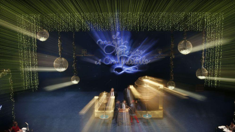 Foto: Imagen de archivo de un sorteo de la Lotería de Navidad (EFE)