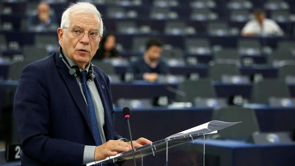 Foto: Josep Borrell, este martes en el Parlamento Europeo. (Reuters)