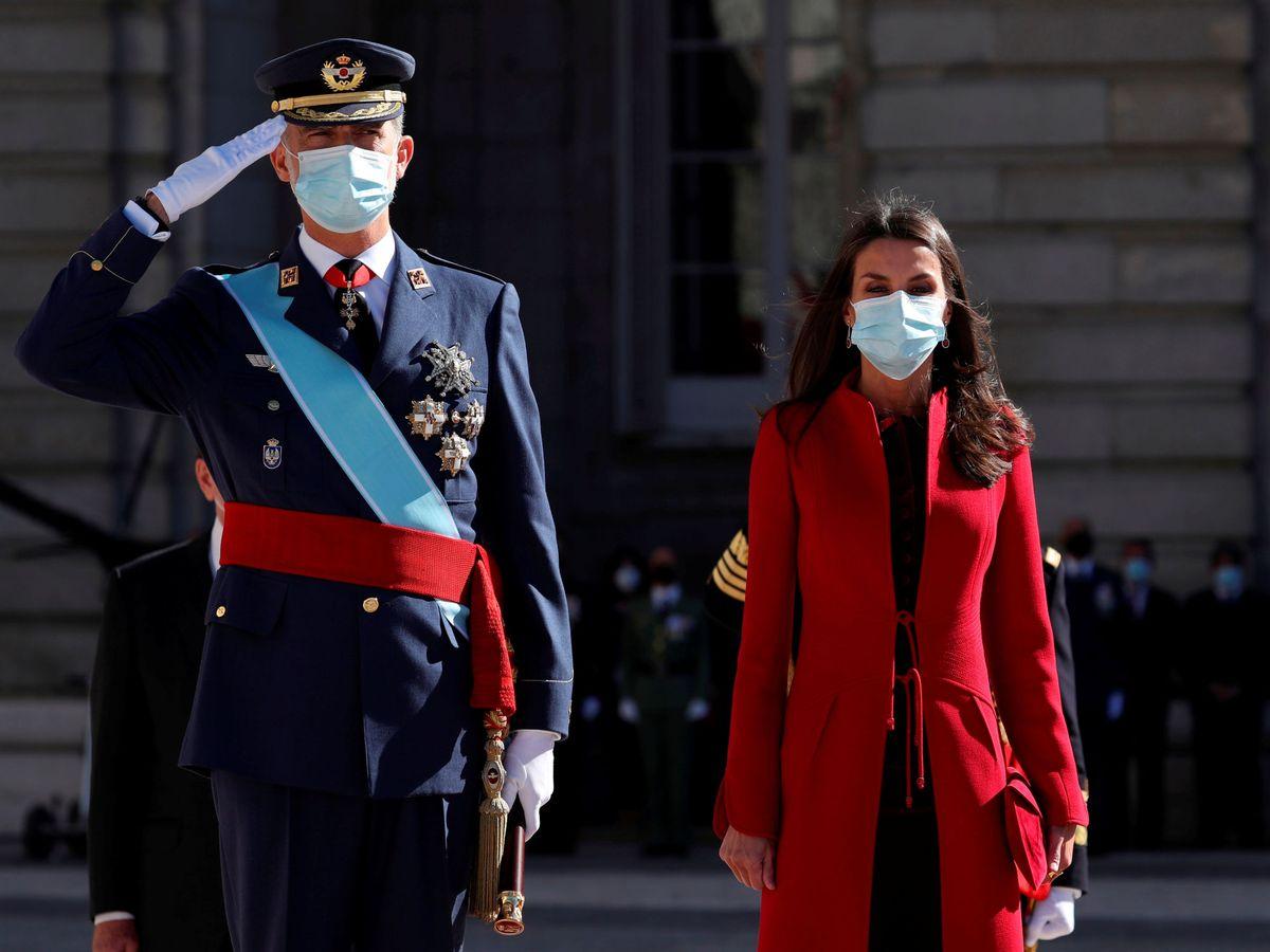Foto: Los Reyes de España. (Reuters)
