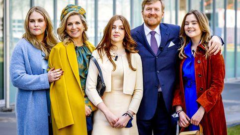 Máxima de Holanda y las mejores rivales de estilo en el Día del Rey: ¡sus hijas!