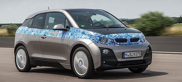 Foto: El coche eléctrico de BMW, en noviembre
