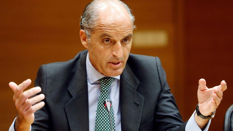 Anticorrupción pide procesar a Camps por ocultar una 'cláusula Castor' en la F 1