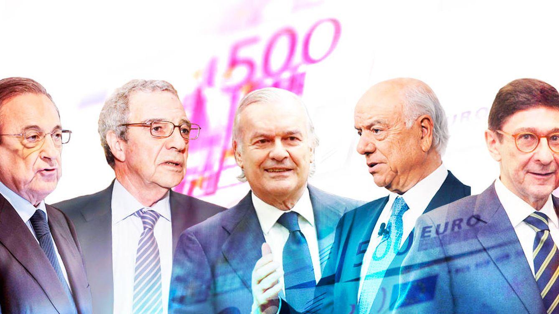 El 'lifting' de los capos del Ibex cuesta 700 millones a sus accionistas