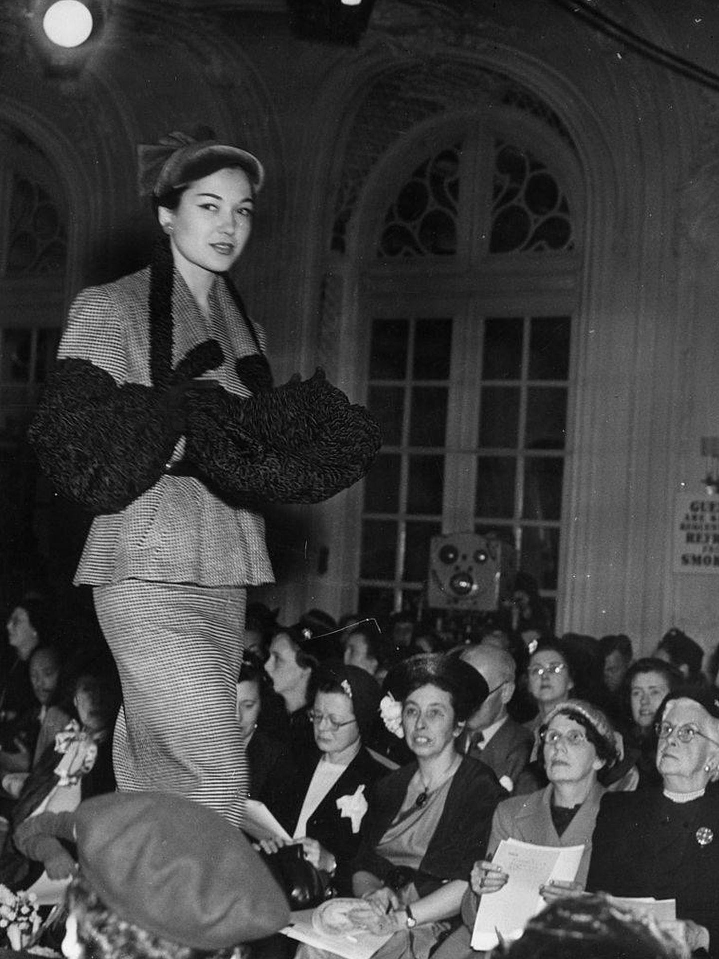 1951 Wool Fashions. (Getty)