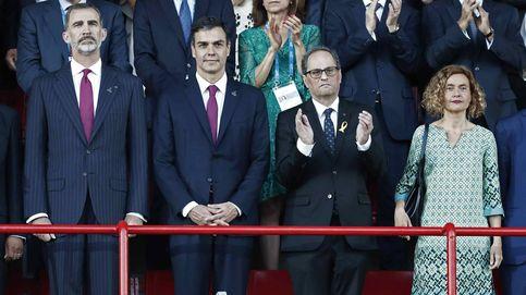 El Rey y Torra, juntos en los Juegos del Mediterráneo en medio de las protestas