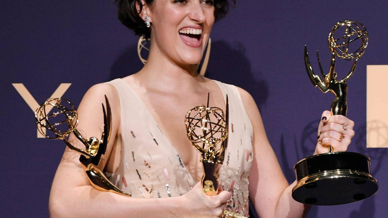 Phoebe Waller-Bridge, en los Premios Emmy. (Getty)