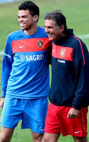 """Queiroz: """"Yo no insulto a Pepe cuando patea a otros jugadores en la cabeza"""""""