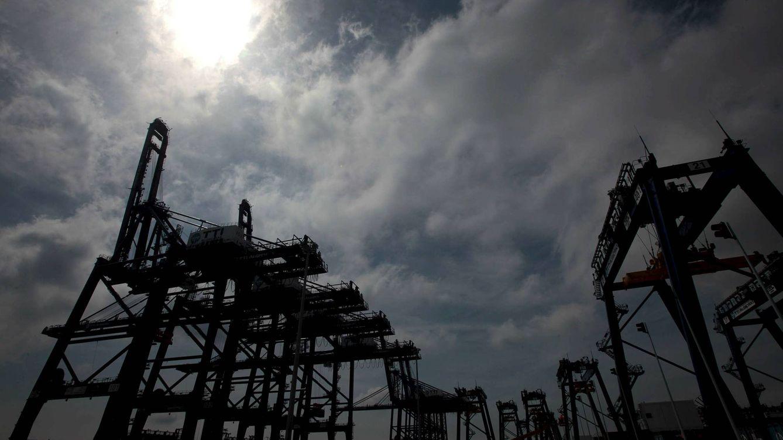 Foto: Terminal de contenedores del puerto de Algeciras. (EFE)