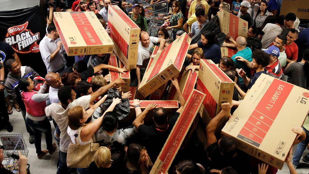 Foto: Compradores durante un Black Friday. (Foto: reuters)