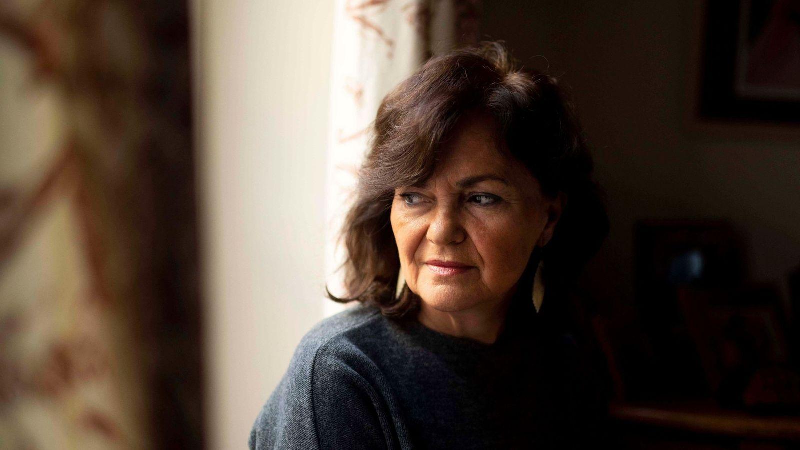 Foto: La vicepresidenta del Gobierno, Carmen Calvo, el pasado 5 de enero en Cabra, Córdoba. (EFE)