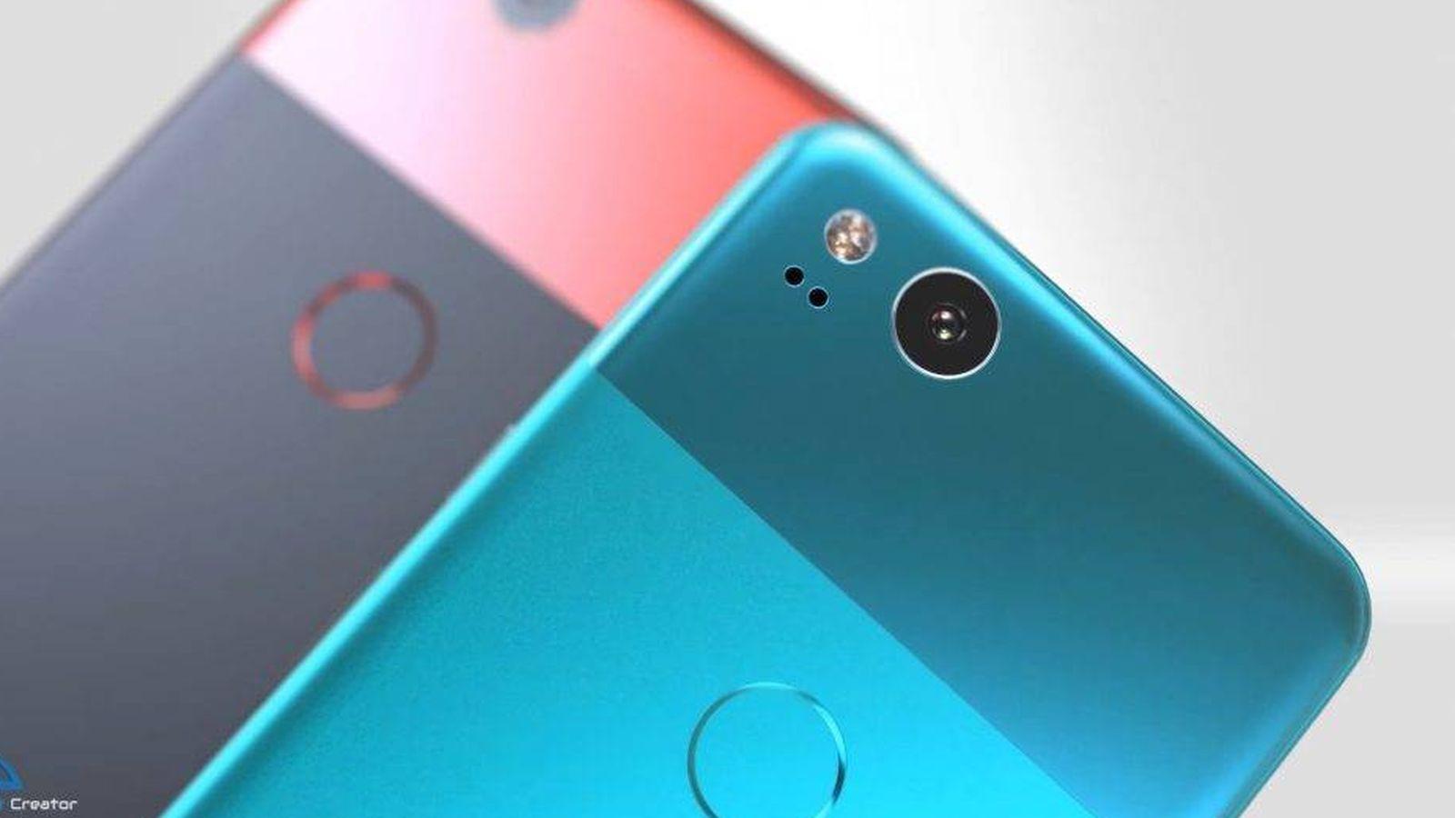 Foto: Render del aspecto que podrían tener los nuevos Pixel. (EC)
