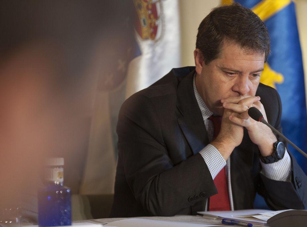 Foto: El presidente manchego, Emiliano García-Page, el pasado 28 de octubre en un foro en Cuenca.