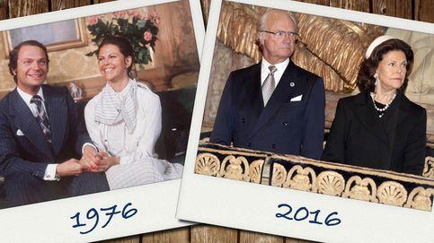 40 años del compromiso de los reyes de Suecia: así ha sido su agitada relación