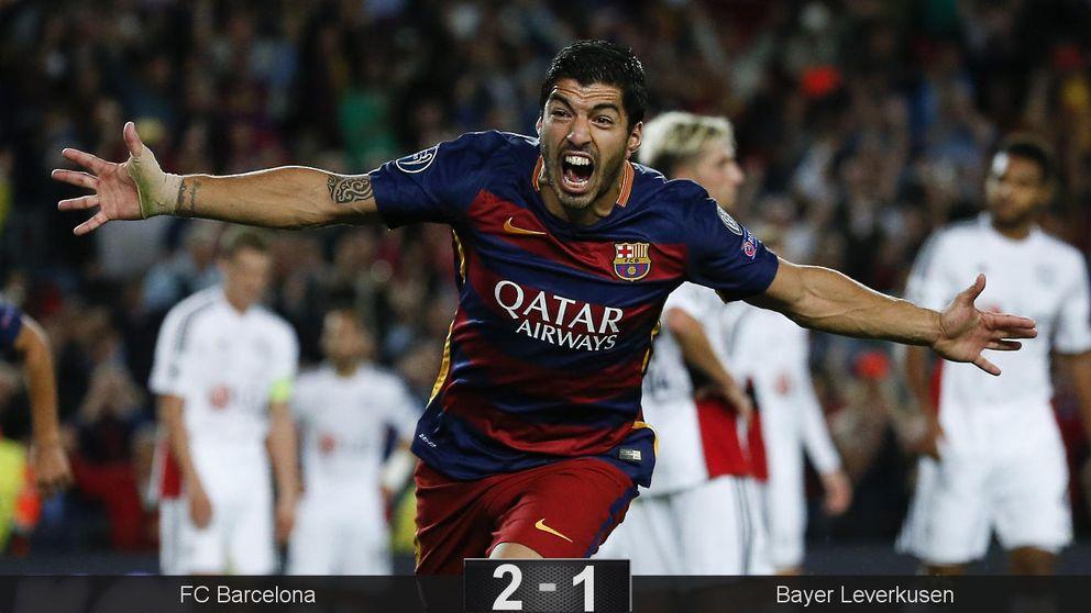 Luis Suárez mantiene viva la gran flor de Luis Enrique incluso sin Messi