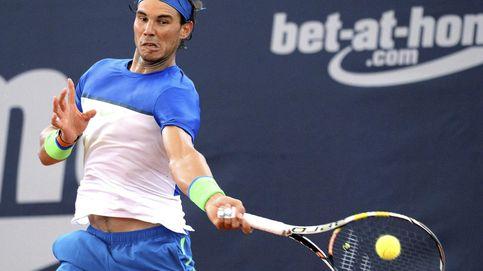 A pesar de las dobles faltas, Nadal saca su tenis más feroz para llegar a cuartos