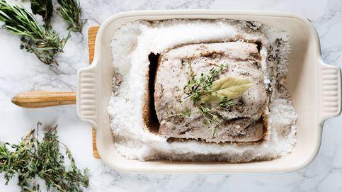 Lomo de cerdo asado a la sal, una cocción limpia para un asado jugoso