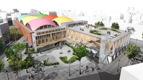 Así será el nuevo mercado de La Cebada y Feria de arte en Pekín: el día en fotos
