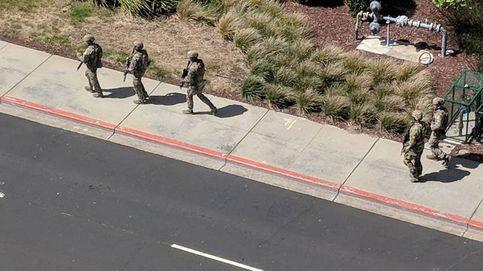 Las imágenes del tiroteo en la sede de Youtube en California