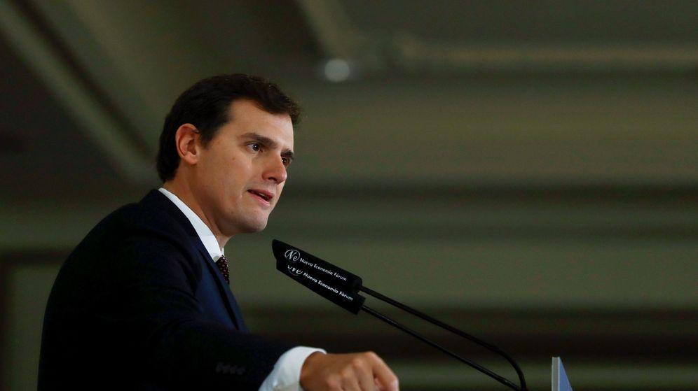 Foto: El presidente nacional de Ciudadanos, Albert Rivera. (EFE)