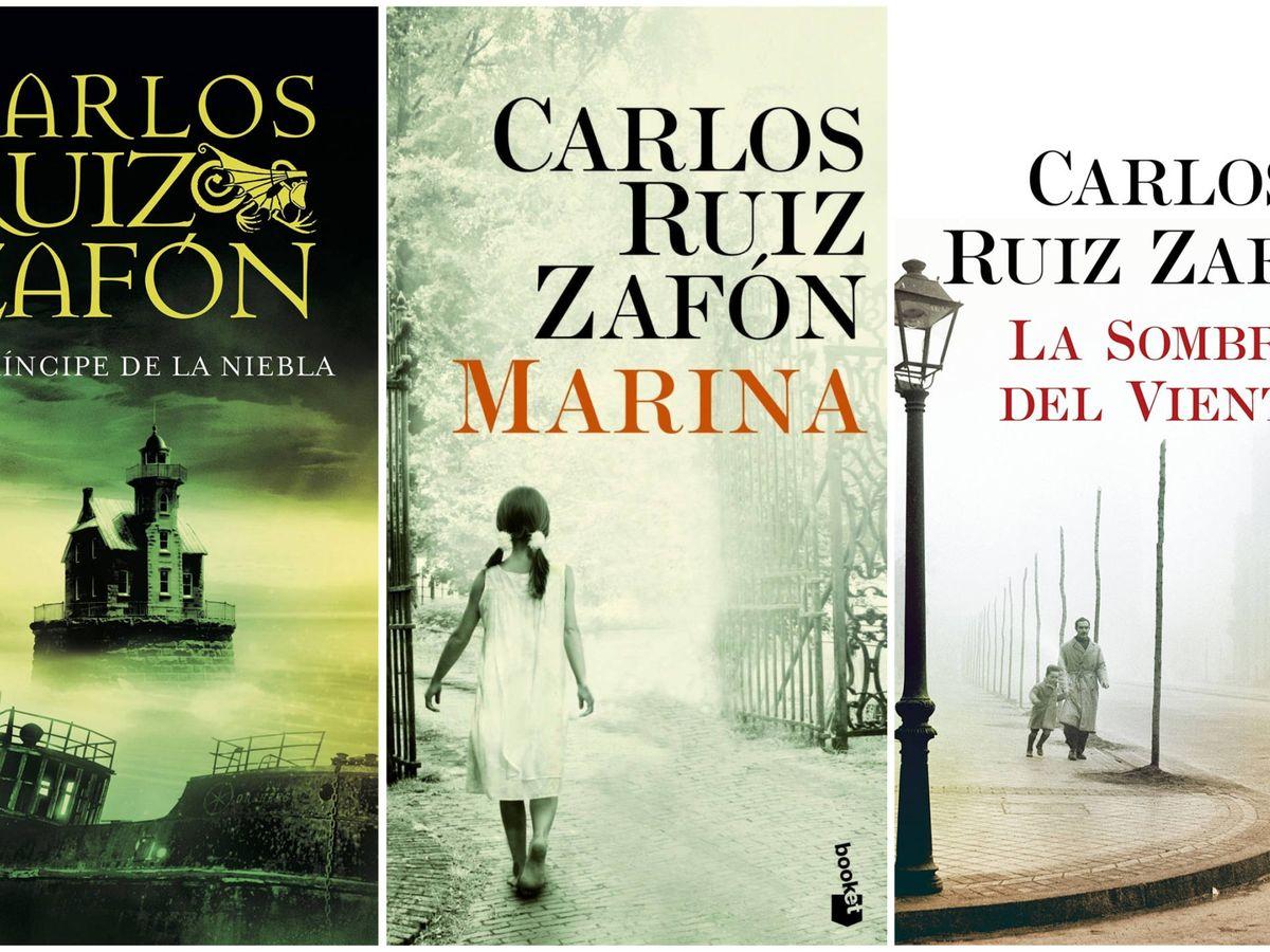 Los Cinco Libros Imprescindibles De Carlos Ruiz Zafón El Gran Superventas Español