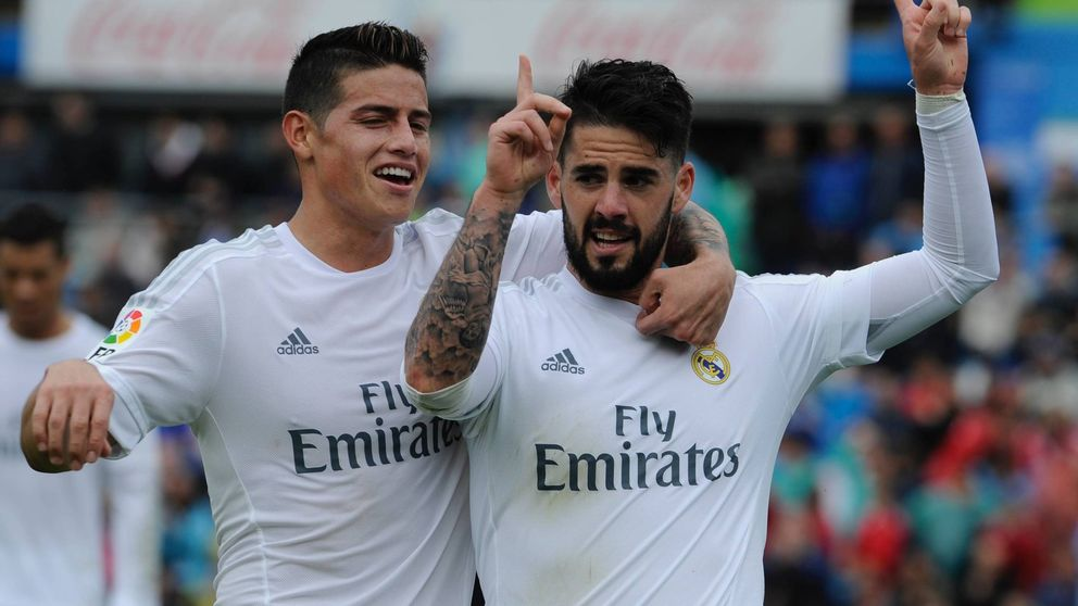 Isco y James se pudren, pero el Real Madrid no encuentra una solución