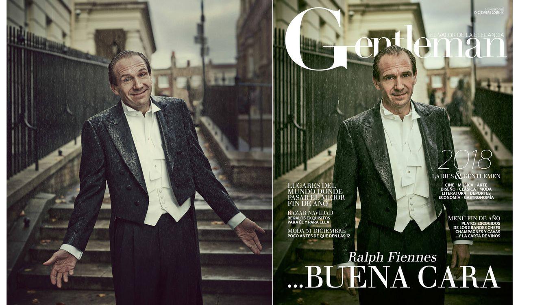 Foto: El actor alcanza su máxima plenitud y protagoniza la portada del último número del año de Gentleman. (Jason Bell)