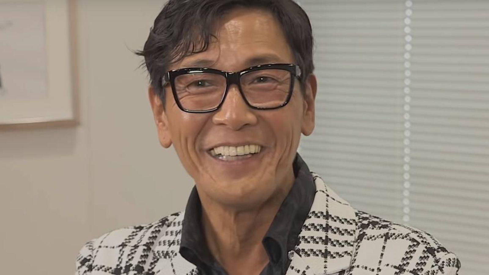 Foto: El actor Taka Kato, en un fragmento de la entrevista. (YouTube)