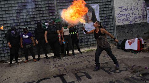 Feministas piden justicia en Ciudad de México