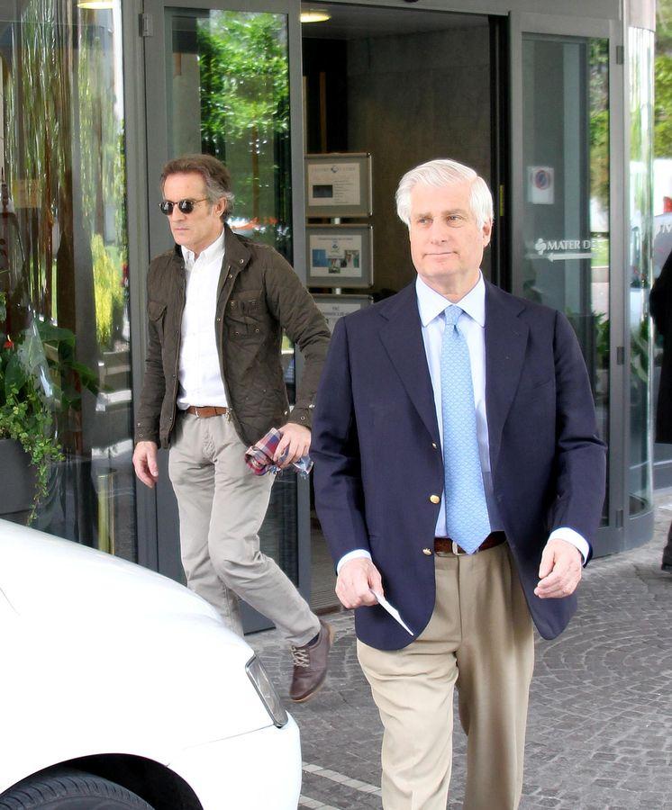Foto: Carlos Martínez de Irujo junto a Alfonso Díez, en una imagen de archivo (Gtres)