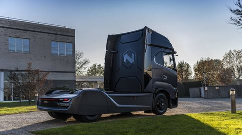 La gran autonomía del primer camión eléctrico de Iveco, el Nikola Tre