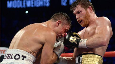 Polémica y feroz victoria de Canelo Álvarez a Golovkin con golpes en mitad del ring